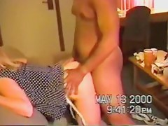 Golden-Haired Wife Fucked On Holidays