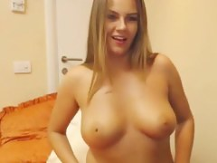 Sexy Simple Breasty Blond Sweetheart
