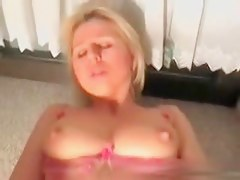 Blonde wife fucked by my big borehole