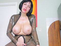 Latex Twat Be my twat take surrounding with the tongue villein your goo belongs to me