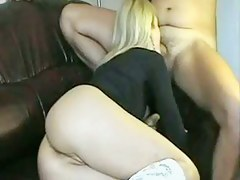 Anal, Creampie In Golden-Haired