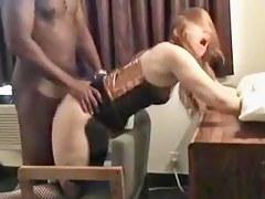 Interracial homemade porn prevalent busty slut