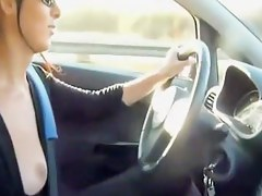 Amateurs get so naughty in transmitted to car