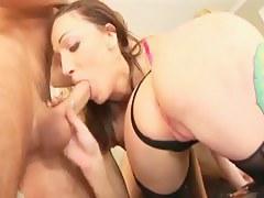 Rachel Luv & Sarah Jane Ceylon Anal Foursome