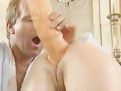 Lustful Babes Acquires Her Arse Screwed Hard By A Sex Toy