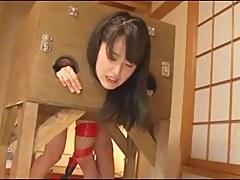 Japanese lackey inclusive creampie