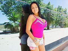 Latina Mollycoddle Take Big Pest Plus Tits Gets...