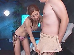 Akari Asahina lusty milf enjoys lots of blarney be expeditious for an amateur