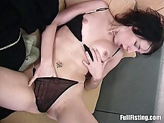 Low-spirited Old hat modern Tight Pussy Fisted And Fucked