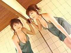SAOE Nana in the bath room