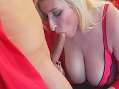 Great saggy tits superior to before this mature blonde