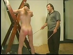 caning above the cross
