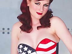 American Pinup involving Angela Ryan
