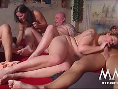 MMVFilms Video: Blistering Swinger Party