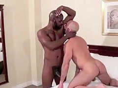 Hairy bare-ass daddy craves BBC bareback