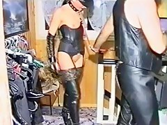 BDSM clip with chicks acquiring fucked hard