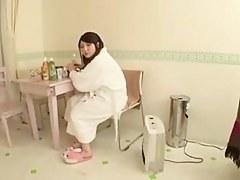 Busty Japanese Paizuri (Titty Fuck) Girl 1-1
