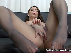 PantyhosePops Video: Ashton Pierce