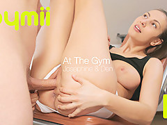 Den and Josephine - At The Gym