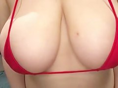 Busty Japanese Paizuri (Titty Fuck) Girl 1-4
