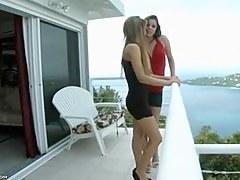 Balcony to slay rub elbows with Bedroom