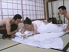 Asian mature BBW Mariko pt3 FMM (no censorship)