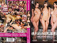 Yuria Kiritani,Wakana Kinoshita,Akari Hoshino in Big Tits Onsen
