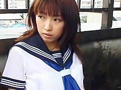 NOMOTO Haruka in the rain
