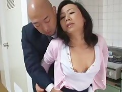 Aged Japanese mammy Craves son's ally Dick (Censored)