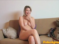 FakeAgent HD: Fit blonde goes all make an issue of way in found search for