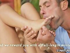 21Sextury XXX Video: Two feet to perfection