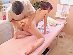 Cute babe gets banged hard in voyeur Japanese sex video