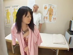 Amazing Jap infant crammed in silent cam palpate flick