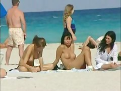 Compilation of chum around down annoy best beach voyeur separate out down naked chicks