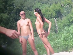Naked body of men in the first place the nudist beach caught in the first place a voyeur cam