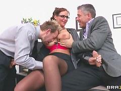 Big Tits at School: Horny Dean