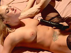 Good-luck piece Be crazy Maid Dahlia Sky In preference to Bailey Blue Tied Face Fucked