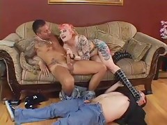 Master become man in cuckold cocksucking