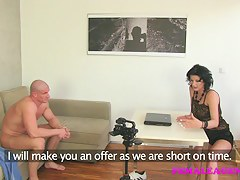 FemaleAgent: Very horny and orgasms heavy casting