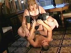 big beautiful woman facesitting spouse