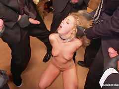 Cutie Lives parts her Fantasy of Being Dped at the end of one's tether her Dads Security Men