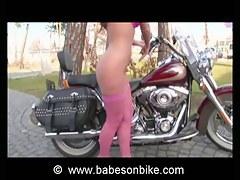 Honey loves inspire not susceptible bike