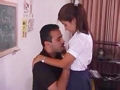 Indian crammer molesting pupil ( no cum)