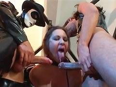 Drop out of sight girls porn video with latex lesbians fucking