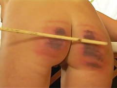 HC8 Caned Fit together  Hard Caning Crying