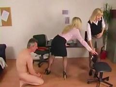Office Dommes Spank Boyfrend