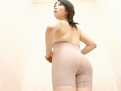 Fresh Asian in a lingerie shop only of two minds yard voyeur motion picture
