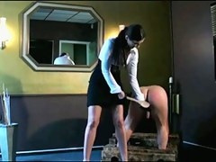 Dominant-Bitch Spanks His Booty!!!!!!!