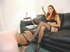 Redhead in Nylons Ding-Dong Female-Dominator