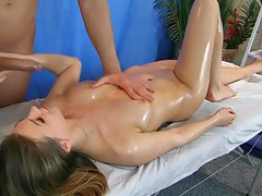 Juvenile Irish colleen fuck fixed during rub down